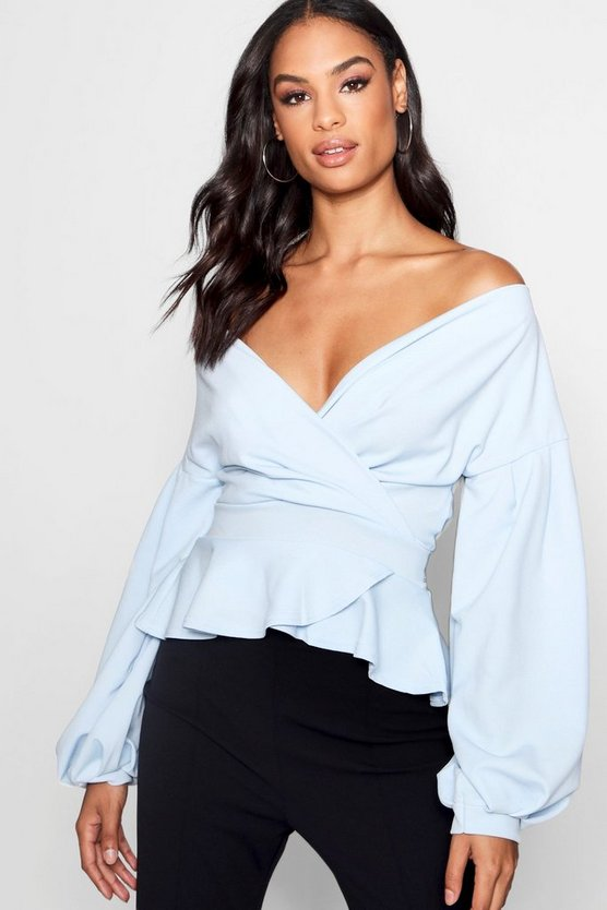 Tall Off The Shoulder Blouse