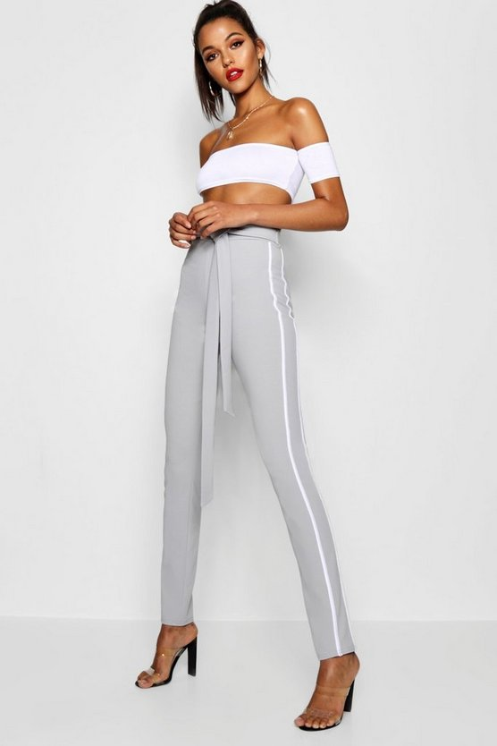 Tall Straight Leg Tailored Trousers