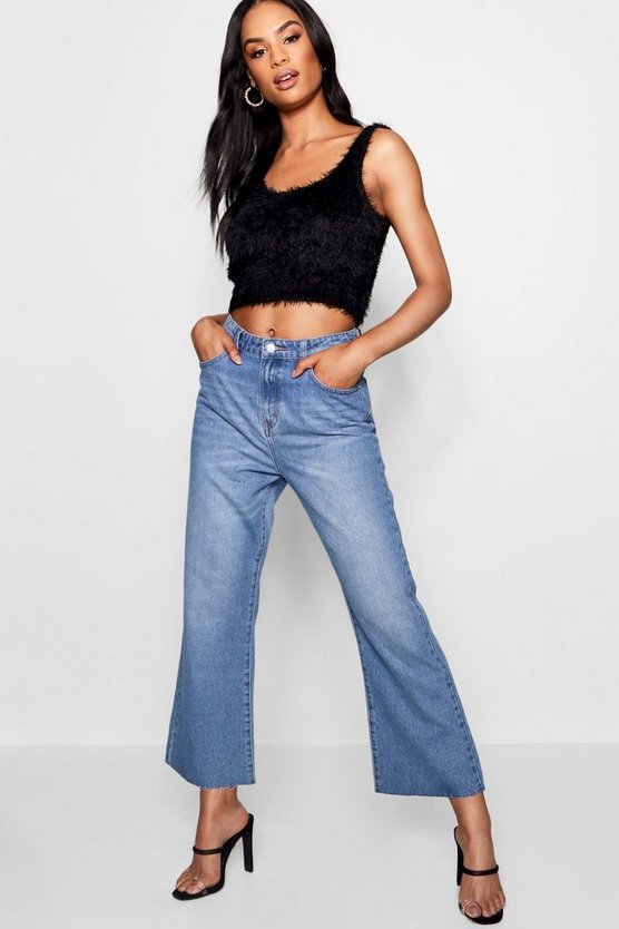 Tall Shelby Vintage Wash Kick Flare Jeans