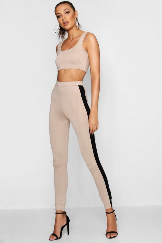 Tall Scoop Bralet & Leggings Co-ord