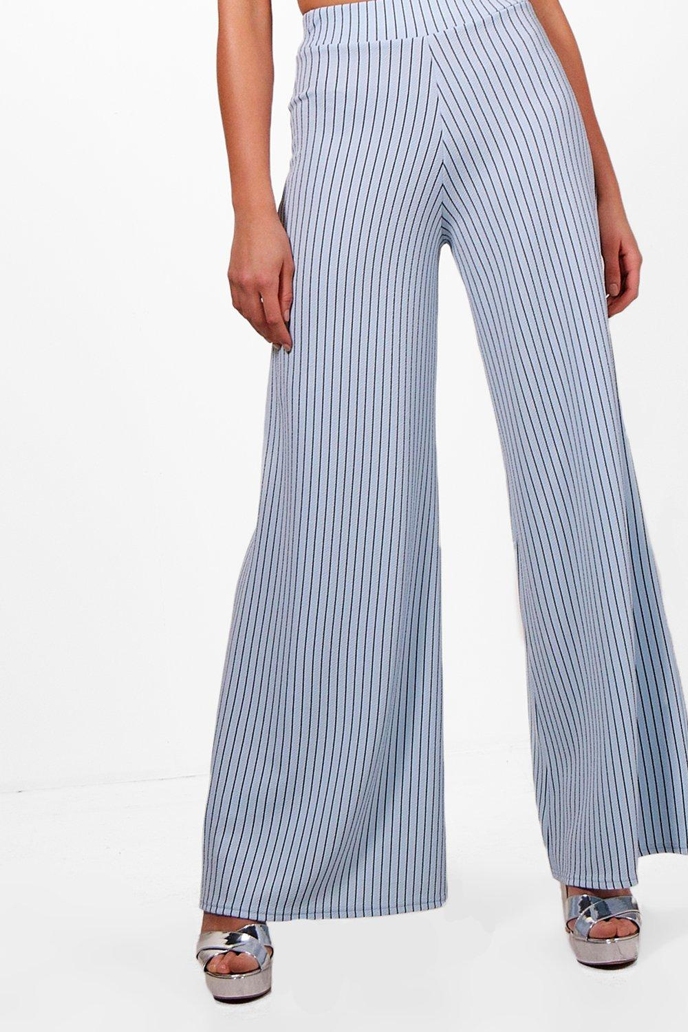 sky Co Bralet Pinstripe Tall Leg amp; Trouser ord qBHxF07w