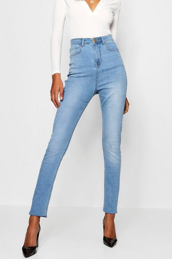 Jean Skinny ourlets Tall