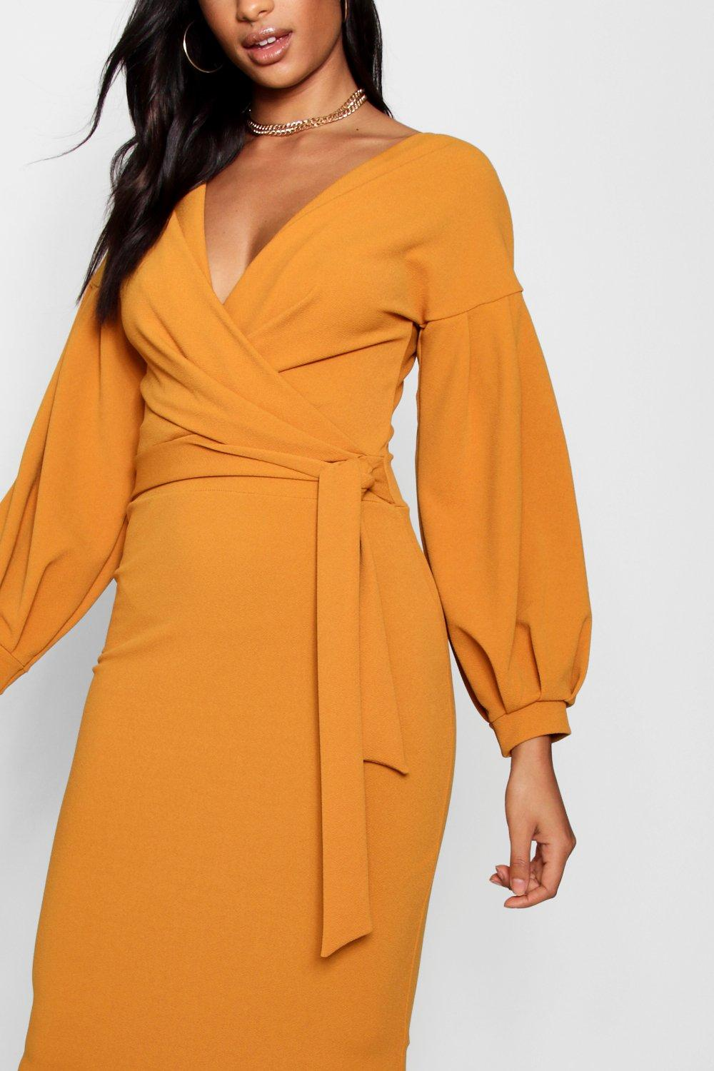 The bodycon shoulder off midi tall dress wrap rockwall knoxville