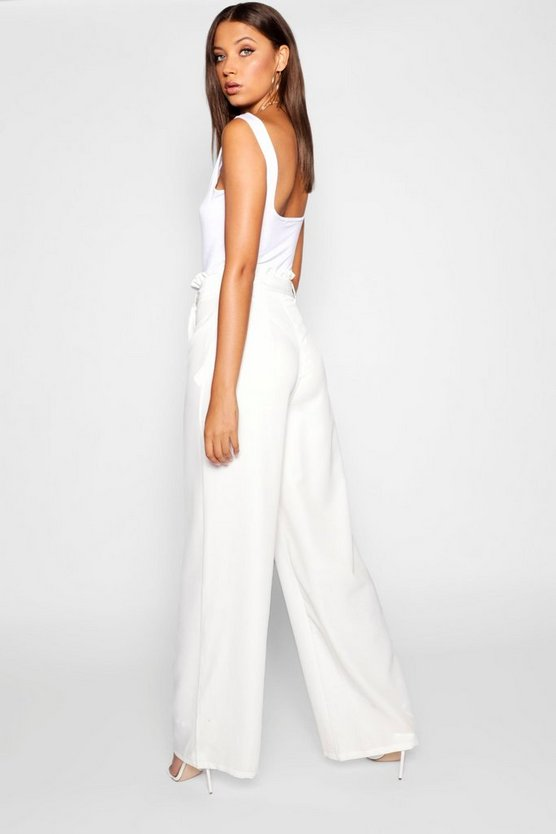 Tall  Paperbag Waist Trousers