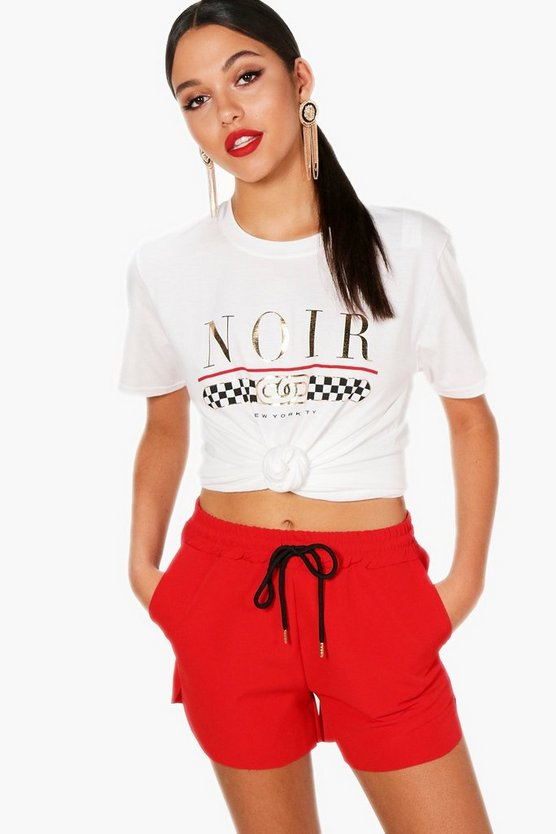 Tall New York Slogan Tee