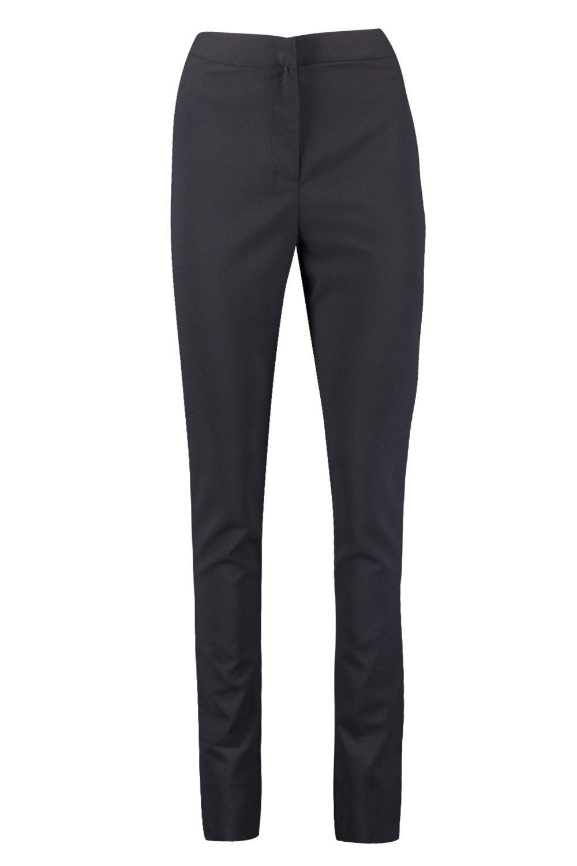 tejidos negro Pantalones con Pantalones Tall con tejidos Pantalones Tall tejidos negro con Tall 1ycgBB
