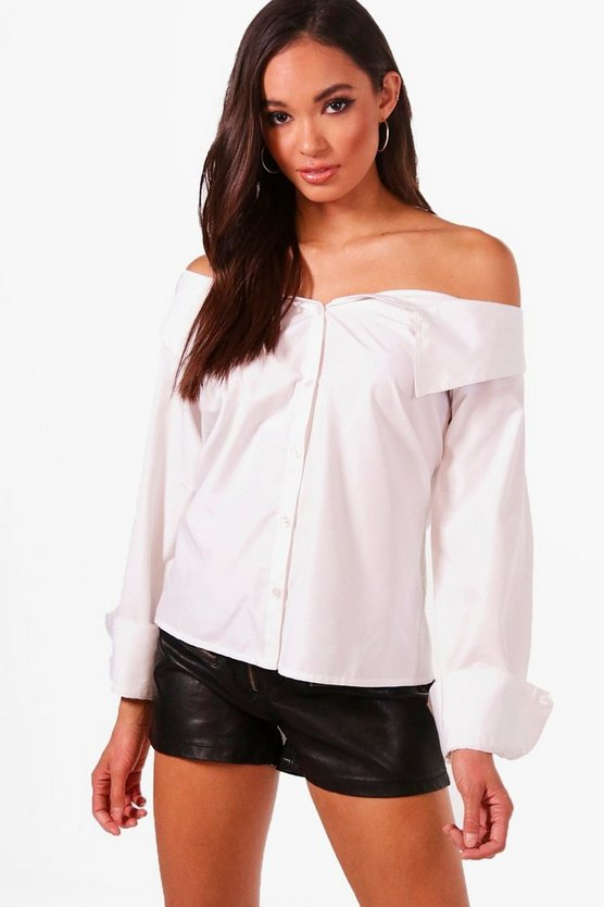 Tall Off The Shoulder Shirt