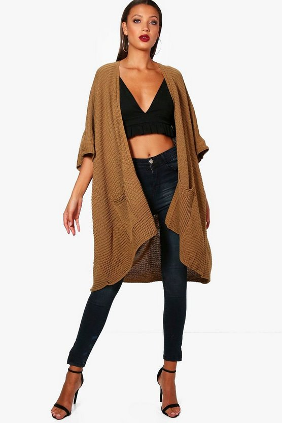 Tall Sophie Cape Cardigan