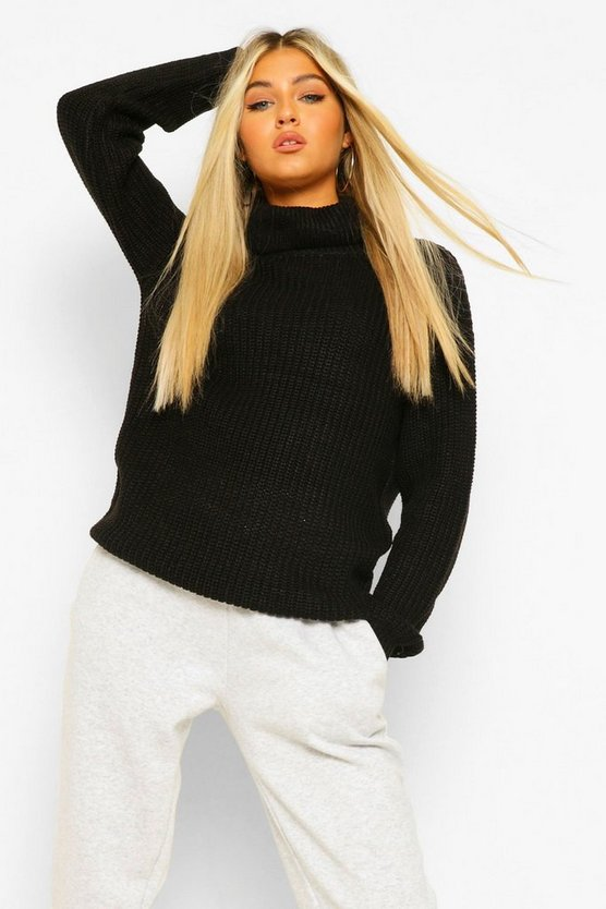 Tall Roll Neck Sweater