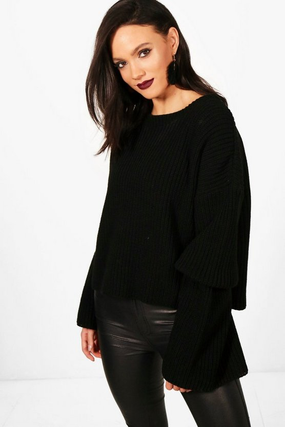 Tall Erica Maxi Sleeve Jumper