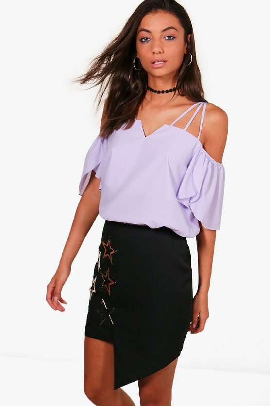 Tall Evie Strappy Woven Top