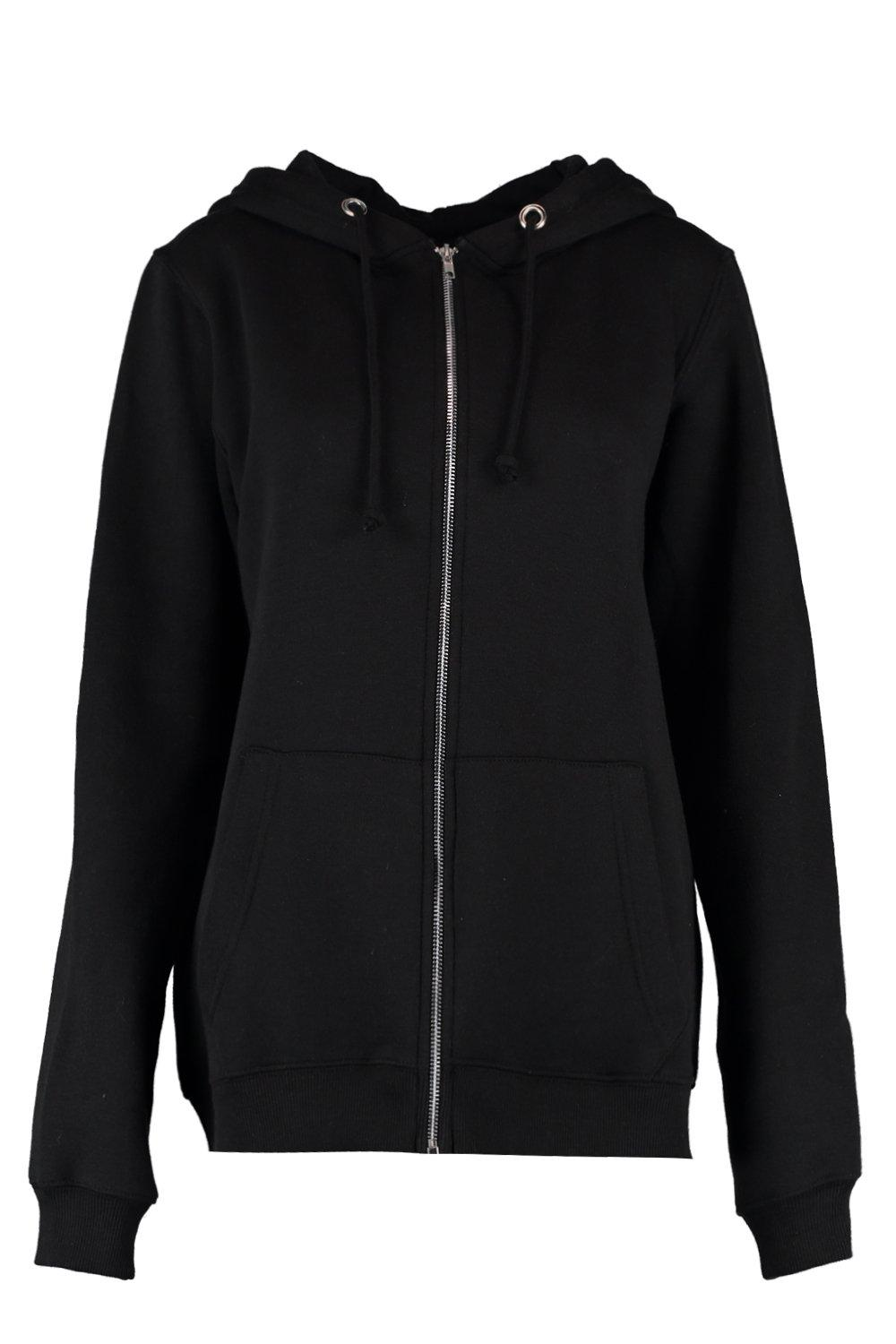 Hoodie Zip Tall black Hoodie black Tall Through Through Tall Zip Hoodie Through Zip 4TqH6xAwd4