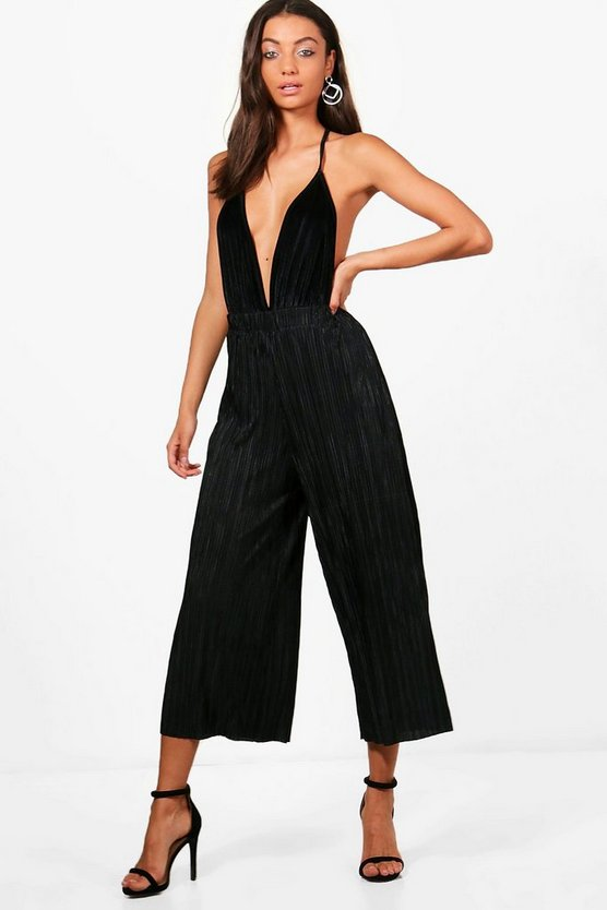 Tall Harriet Pleated Culottes