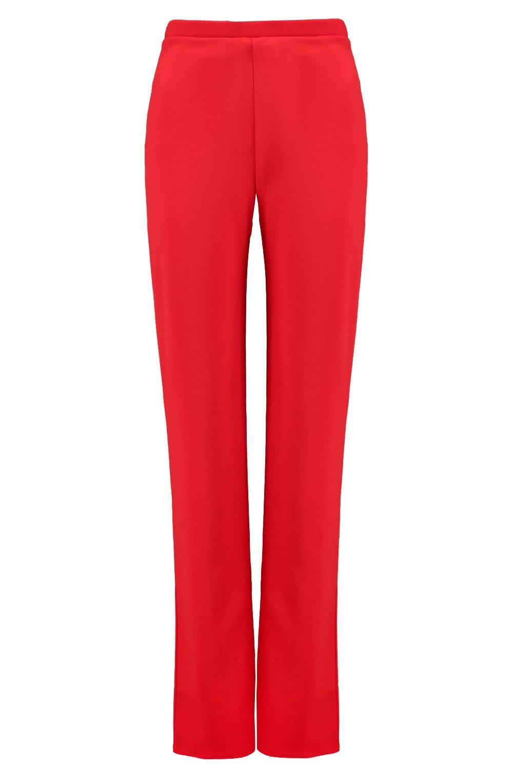 red Tailored Trouser Tall Cigarette fire wIqw7p