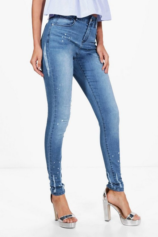 Tall Mary Distressed Skinny Jean