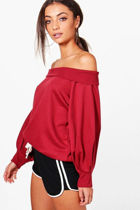 Tall Lola Balloon Sleeve Sweatshirt