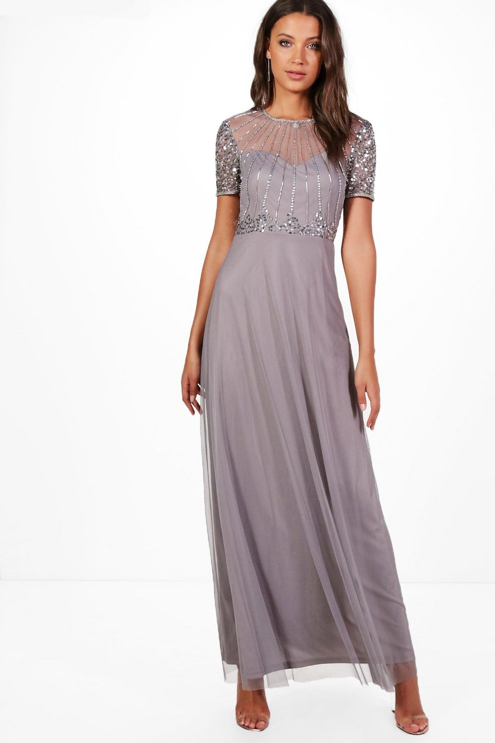 10bb2218133d Tall Boutique Embellished Maxi Dress | Boohoo