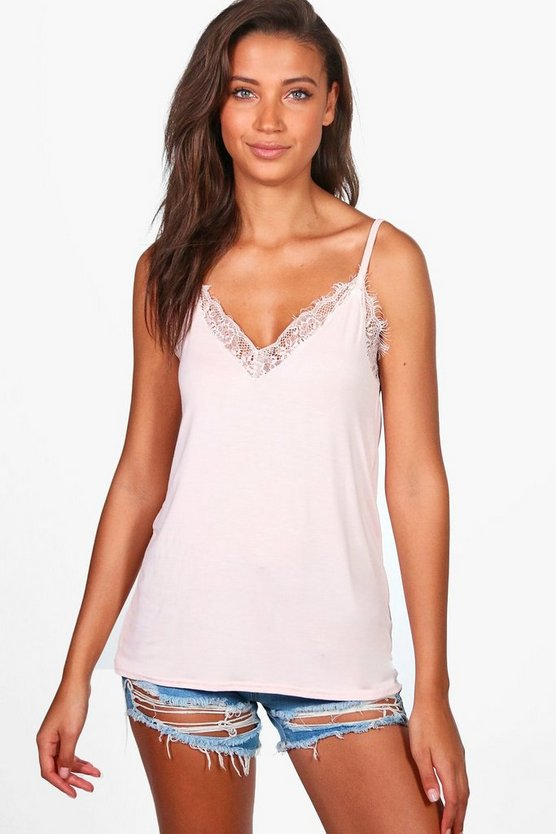 Tall Lace Insert Cami