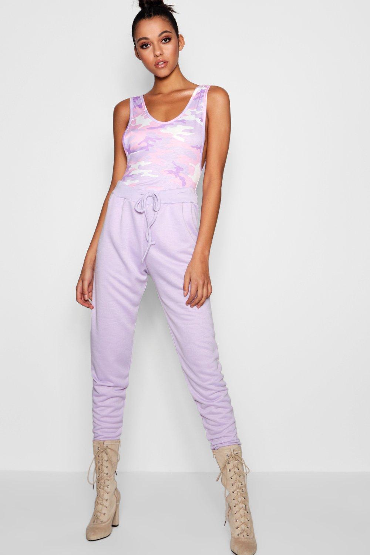 correr Pantalones de tall lilac de deporte 00Fqwt4