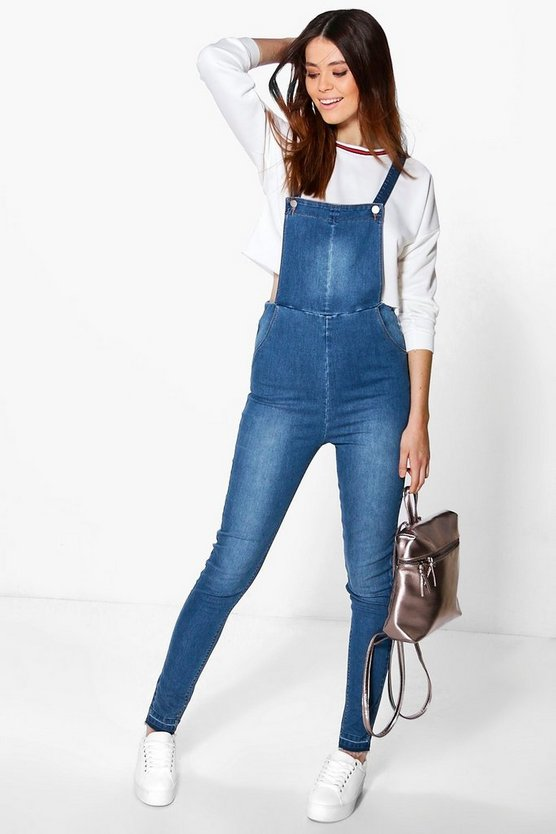 Tall Madi Slim Stretch Dungaree