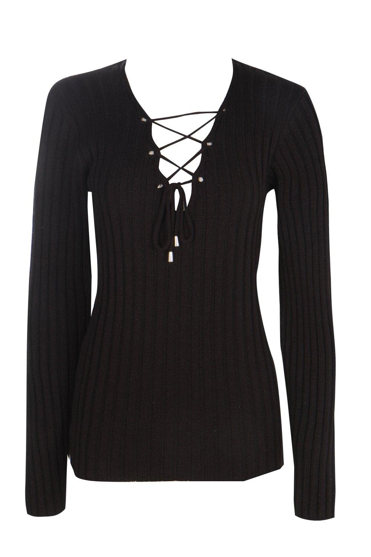 negro con con cordones tall cordones Jersey negro Jersey tall qP5ERcwC5