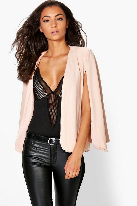 tall mia blazer cape