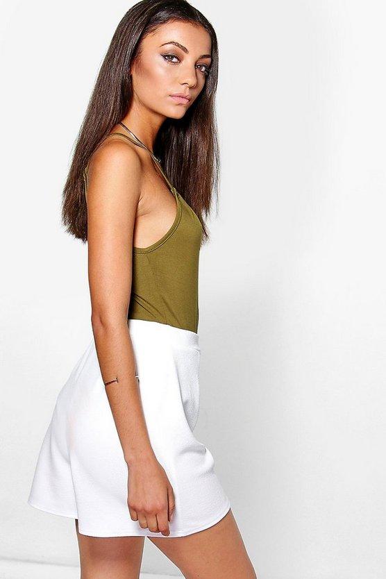 Tall Textured Pleat Tailored Shorts