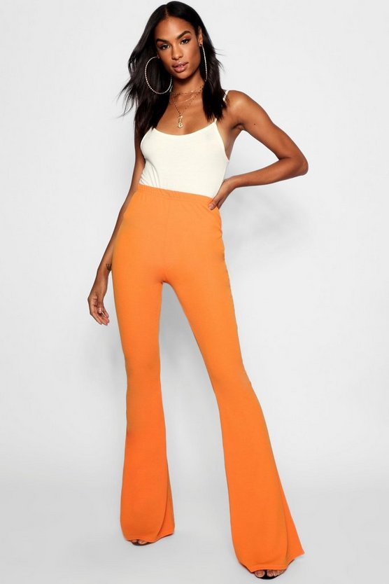 Tall pantalon évasé skinny stretch basique