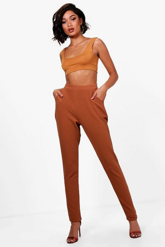 Tall Skinny Crepe 2 Pocket Pants