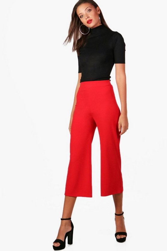 Tall Alexis Tailored Wide Leg Culottes
