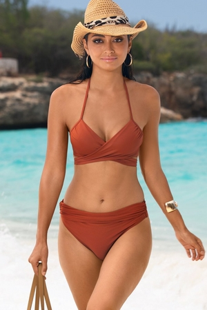 Swim Sense High-Waisted Bikini Bottom