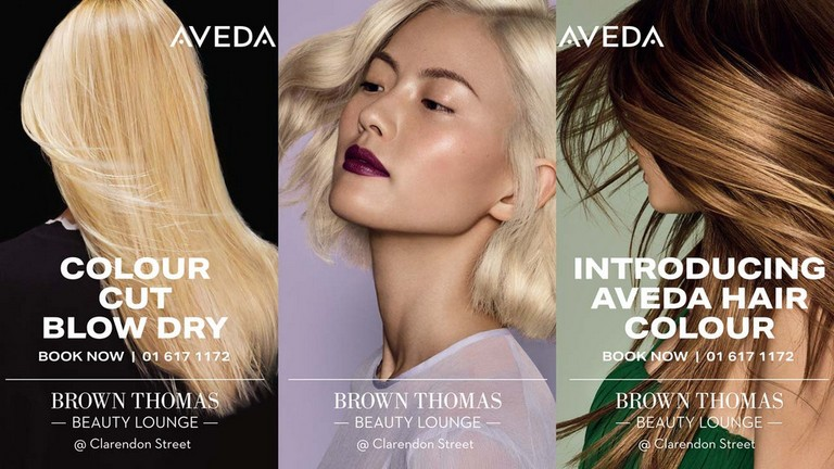 Aveda at the Brown Thomas Beauty Lounge