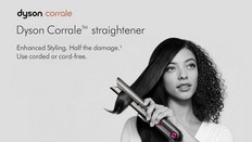 The New Dyson Corrale™ Straightener