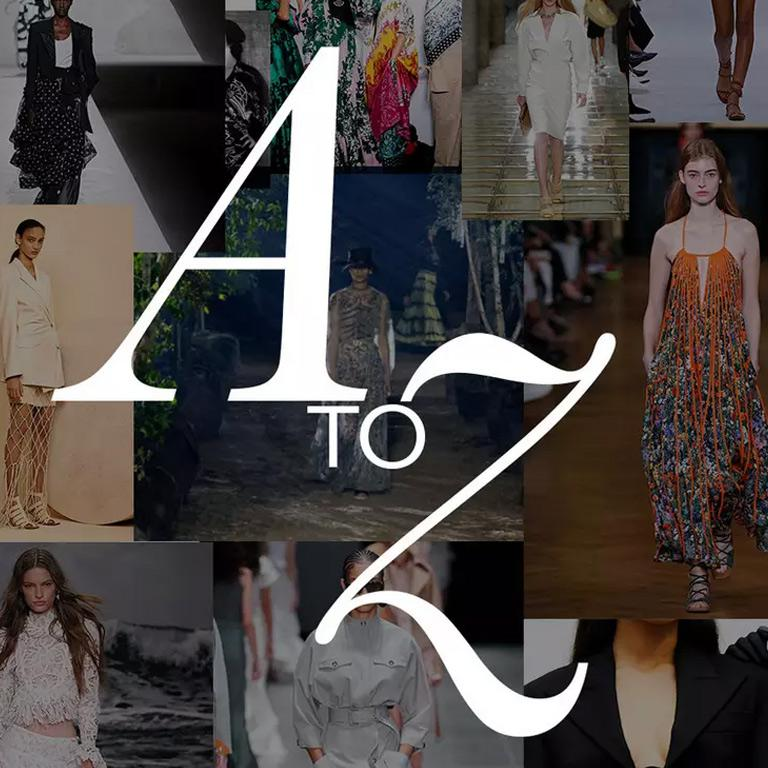 A-Z OF SPRING SUMMER TRENDS