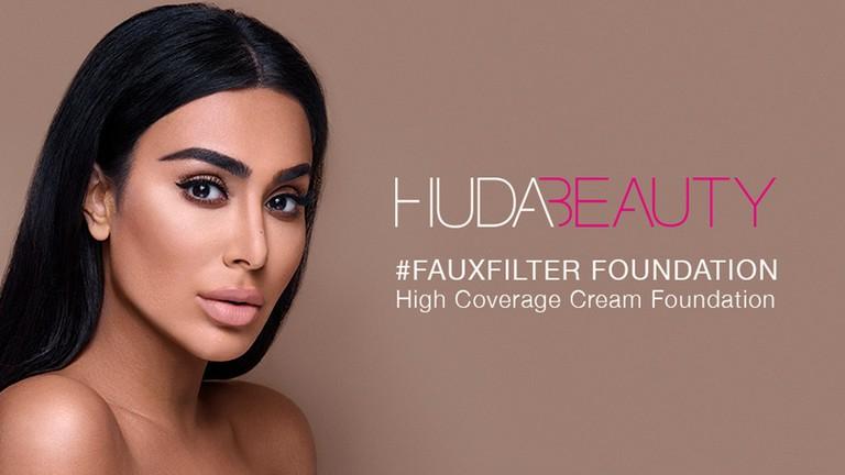 �ล�าร���หารู��า�สำหรั� Huda Beauty Fauxfilter Foundation