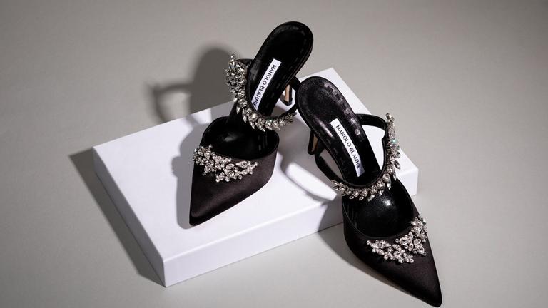 Manolo Blahnik Shoes Brown Thomas