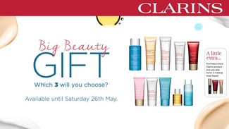 CLARINS IS GIFTING