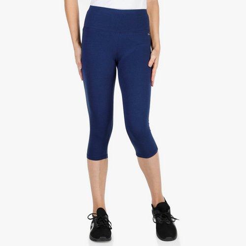 Women s Active High-Waisted Capri - Blue c2aeee56fd