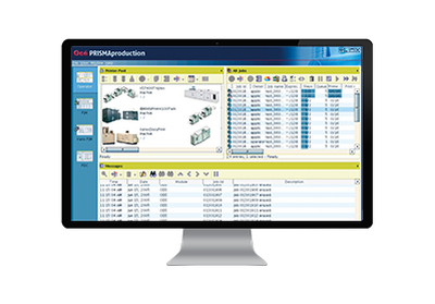 Document process and automation software on desktop
