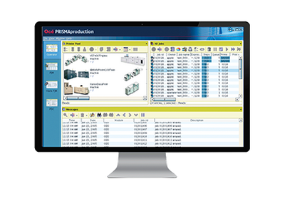 Document process automation software on desktop
