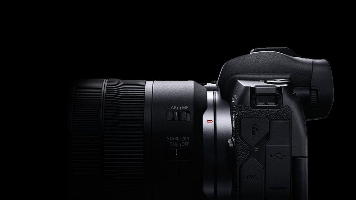 EOS R system lens mount