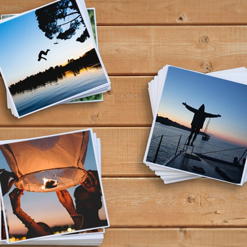 Touch and feel your images, make them real. Canon's photo printing app gives you this and more, with so many ways to tell your story.
