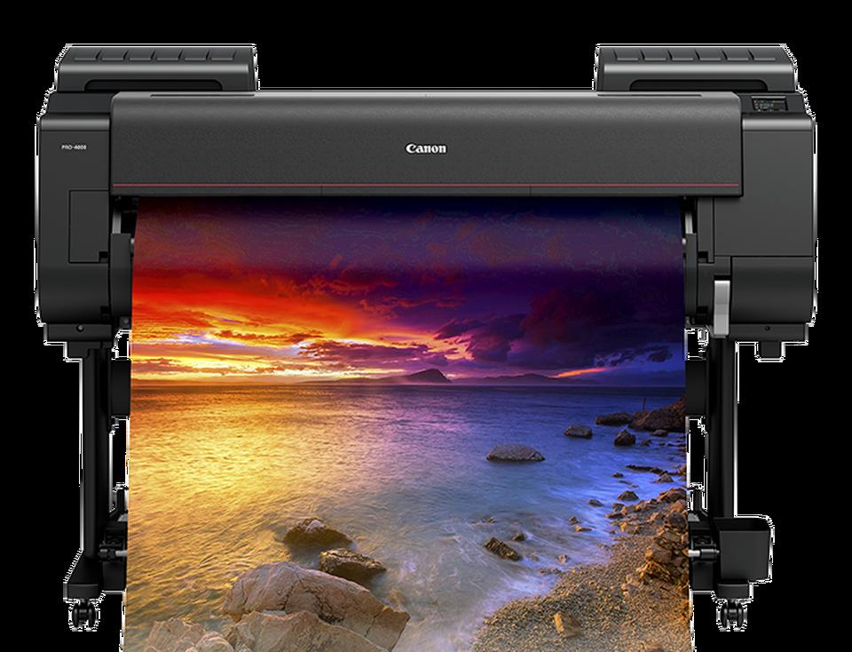 Large format photo printer