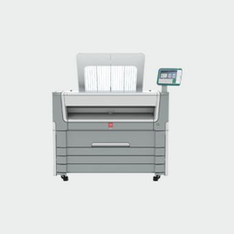 PlotWave 550 black and white plotter