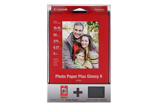 Find the right Canon photo paper to suit your needs with a wide choice of finishes and sizes.