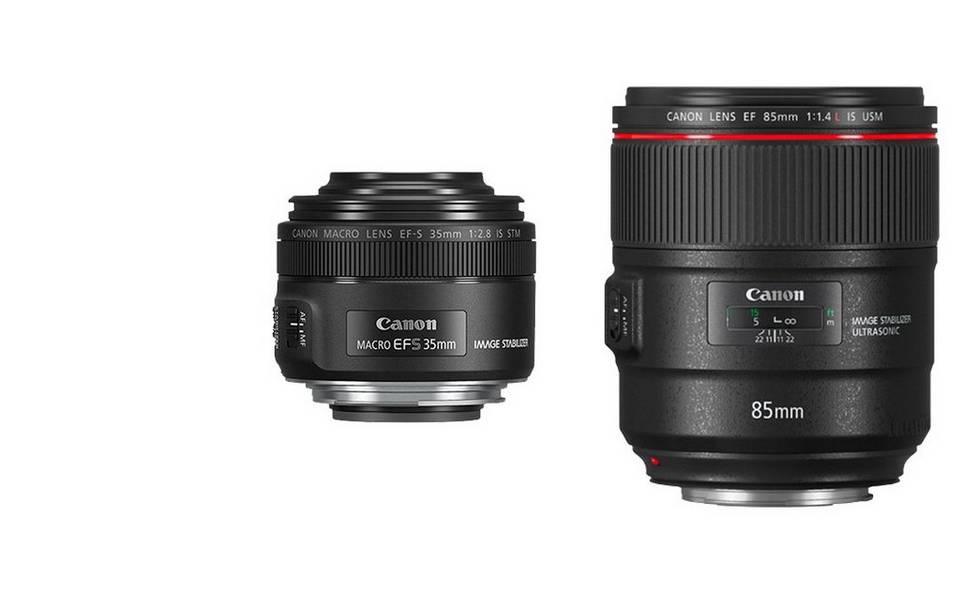 EOS R Compatible Lenses - EF Prime, EF-S, EF Zoom