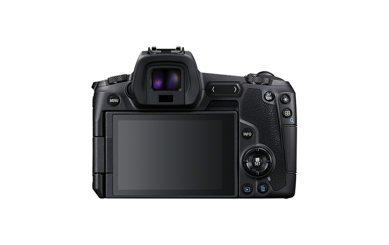 EOS R back body