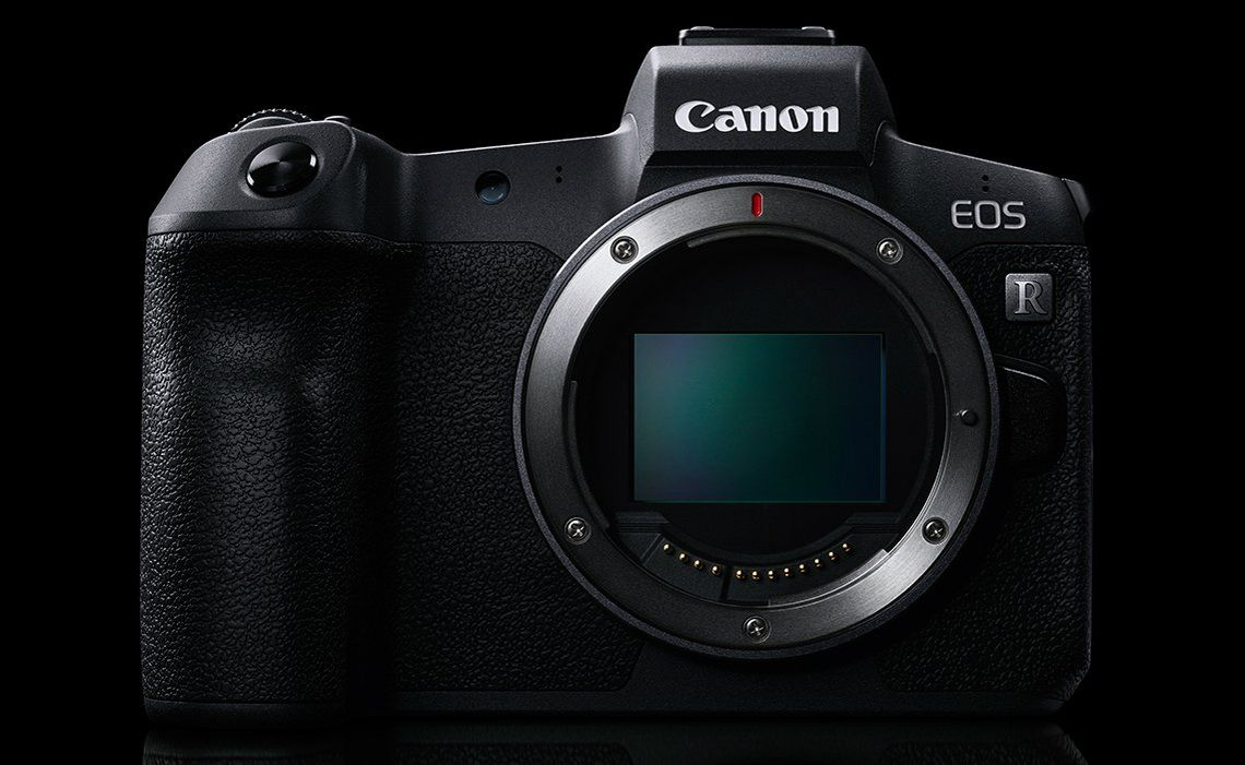 Canon EOS R mount front view
