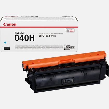 Cartouche toner cyan haut rendement Canon 040H
