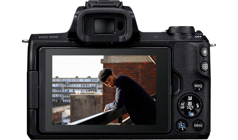 Canon EOS M50 - Cameras - Canon Emirates
